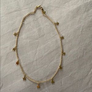 Jewelry - Gold choker with stars